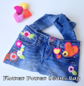 maRRose - CCC - Flower Power Jeans Bag