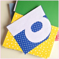 """""""happy"""" paper letter garland"""
