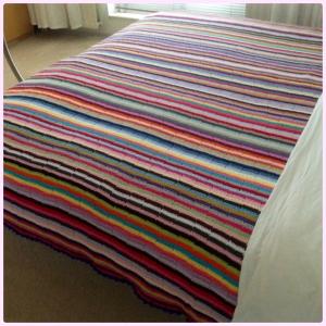 maRRose - CCC: Multicolored Striped Blanket