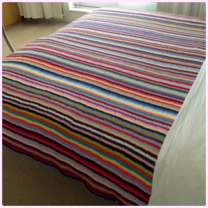 maRRose - CCC: Multicolored Striped Blanket