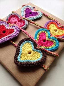 maRRose - CCC, heart garland