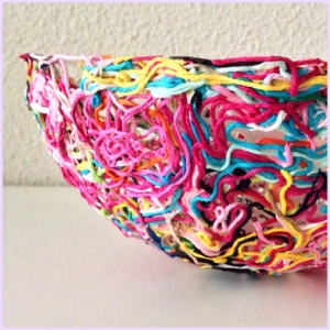 maRRose-CCC, yarn ends bowl