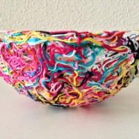 Yarn ends bowl