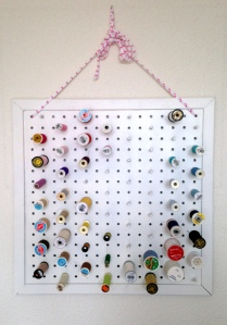 maRRose - Colorful Crochet & Crafts, thread rack