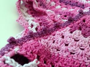 maRRose - CCC: pink/purple Nordic Shawl