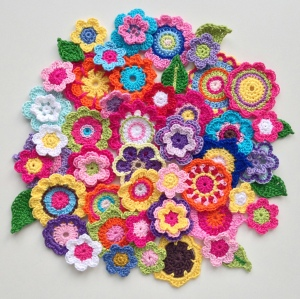 maRRose - CCC: crochet flowers