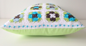 "maRRose - CCC: ""Madelief-Daisy"" cushion"