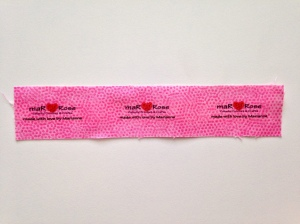 maRRose - CCC: fabric labels diy