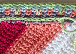 maRRose - CCC: Chevron Babyblanket