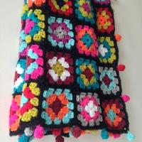 Boho Granny Blanket