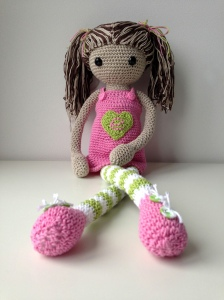 maRRose - CCC: crocheted doll Emília