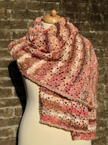 maRRose - CCC: Rectangular South Bay Shawl