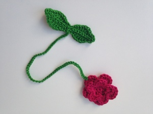 maRRose - CCC: flower bookmark