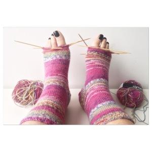 maRRose - CCC: knitting socks