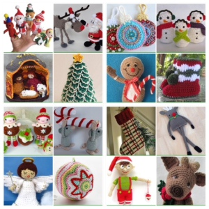 maRRose - CCC: Treasury Tuesday, Christmas Crochet