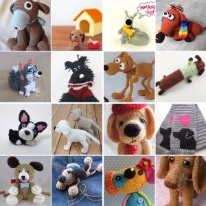 maRRose - CCC: Treasury Tuesday - Crochet: dogs