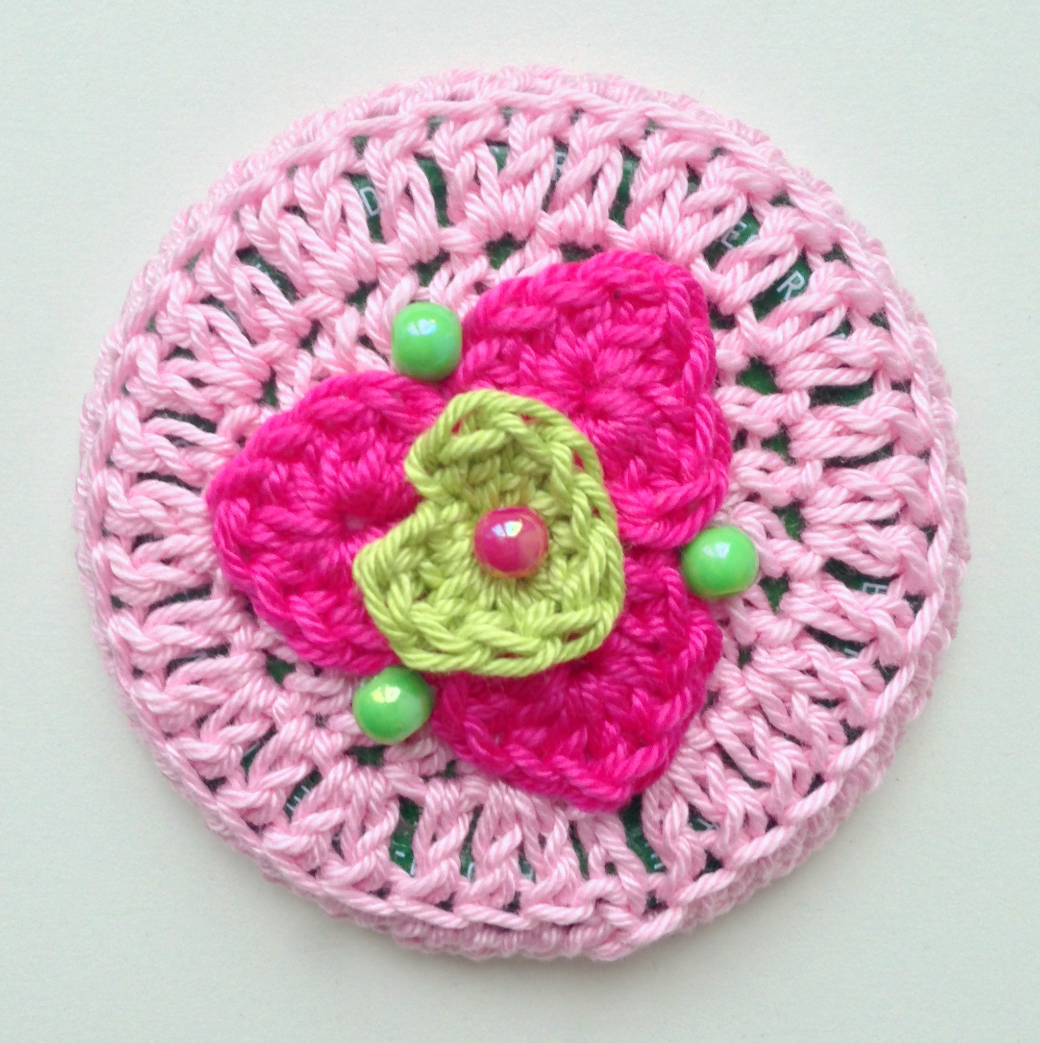 Crochet Jar Lid Covers maRRose CCC
