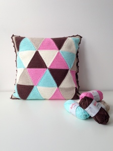 Triangle Cushion Covers by Marianne Dekkers