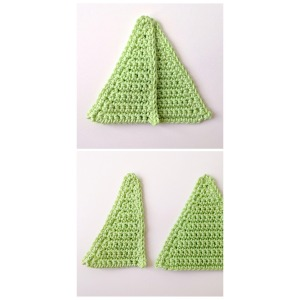 maRRose - CCC: Half Triangle tutorial