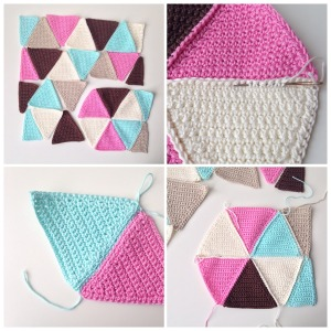 maRRose - CCC: Triangle Cushion Cover - tutorial