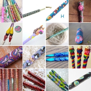 maRRose - CCC: Treasury Tuesday - Polymer Crochet Hooks
