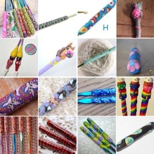 maRRose - CCC: Treasury Tuesday - Polymer Crochet Hooks