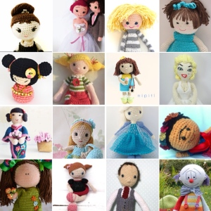 maRRose - CCC: Treasury Tuesday - Crochet Dolls