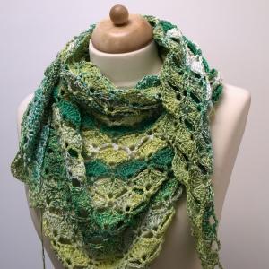 maRRose - CCC - Green summer shawl
