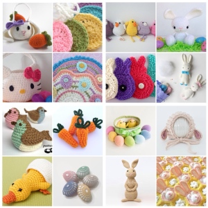 maRRose - CCC: Treasury Tuesday: Crochet Easter/Spring