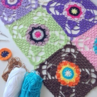 Join-As-You-Go - Rustic Lace Square