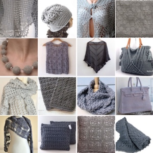 maRRose - CCC: Treasury Tuesday - Gorgeous Crochet in Grey