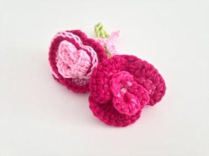 maRRose - CCC --- flower brooch roses