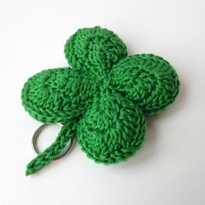 maRRose - CCC --- Four leaf clover keychain