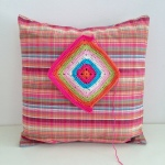 maRRose - CCC --- Granny Square Cushion-01