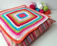 maRRose - CCC --- Granny Square Cushion-03