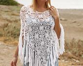 maRRose - CCC --- Treasury Tuesday, Crochet Summer Shawls-02