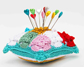 maRRose - CCC --- Treasury Tuesday, Crocheted Pincushions-01