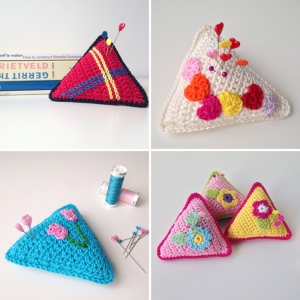 maRRose - CCC --- Treasury Tuesday, Crocheted Pincushions-04