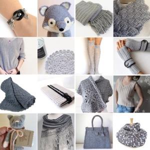maRRose - CCC --- Treasury Tuesday, Crochet - Gorgeous Grey Crochet-01