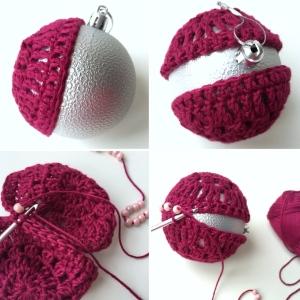 maRRose - CCC --- Crochet Christmas Baubles-30