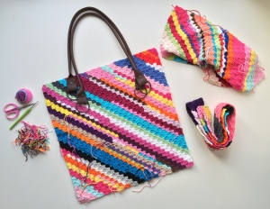 maRRose - CCC --- Yarn Ends Bag-05