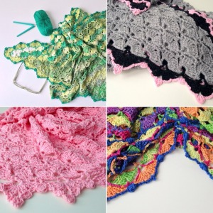 maRRose - CCC - puurhaken summer shawls