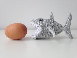 maRRose - CCC --- shark egg cosy