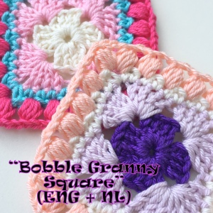 maRRose - CCC --- Bobble Granny Square (ENG + NL)