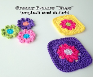 maRRose - CCC --- granny square Rose - english and dutch