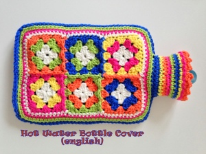 maRRose - CCC --- Hot Water Bottle Cover - english