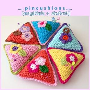 maRRose - CCC - pincushions - english and dutch