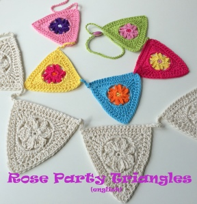 maRRose - CCC --- Rose Party Triangles - english