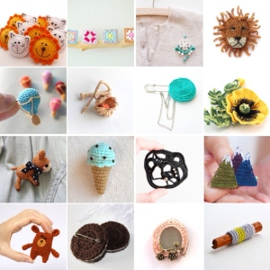maRRose - CCC --- Treasury Tuesday - Crochet Brooches-03
