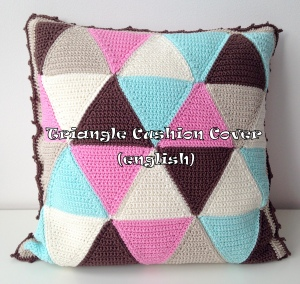 maRRose - CCC - Triangle Cushion Cover - english